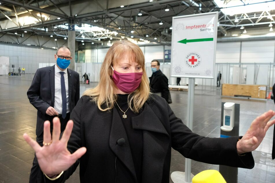 Laut Gesundheitsministerin Petra Köpping (SPD) haben alle Impfzentren in Sachsen eine Liegenschaft bekommen.