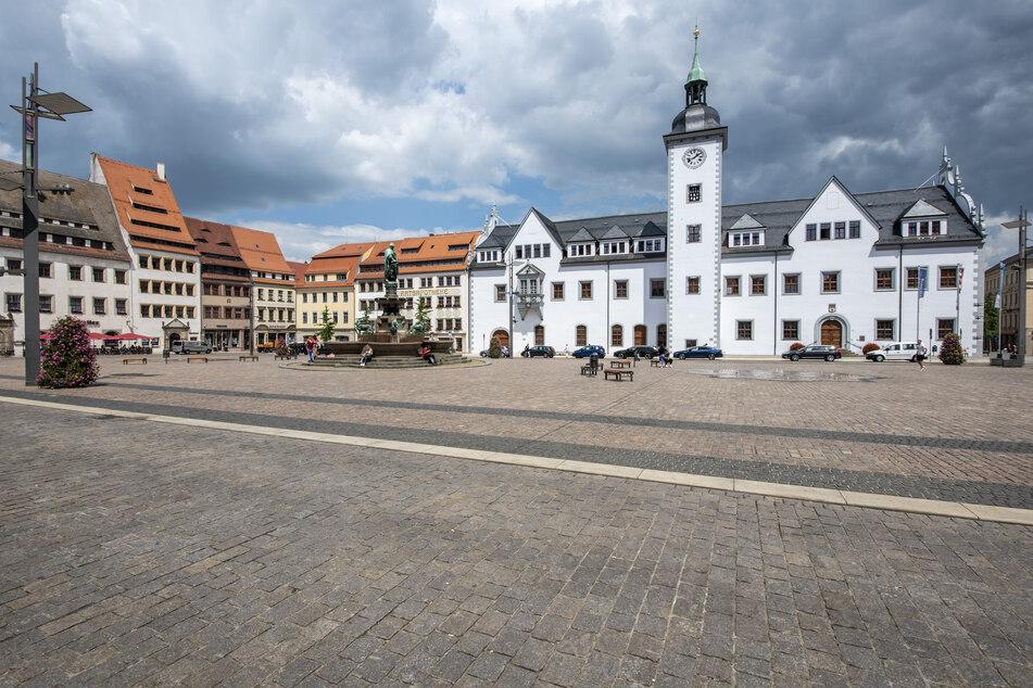 Die Silberstadt Freiberg war einst Waldhauptstadt.