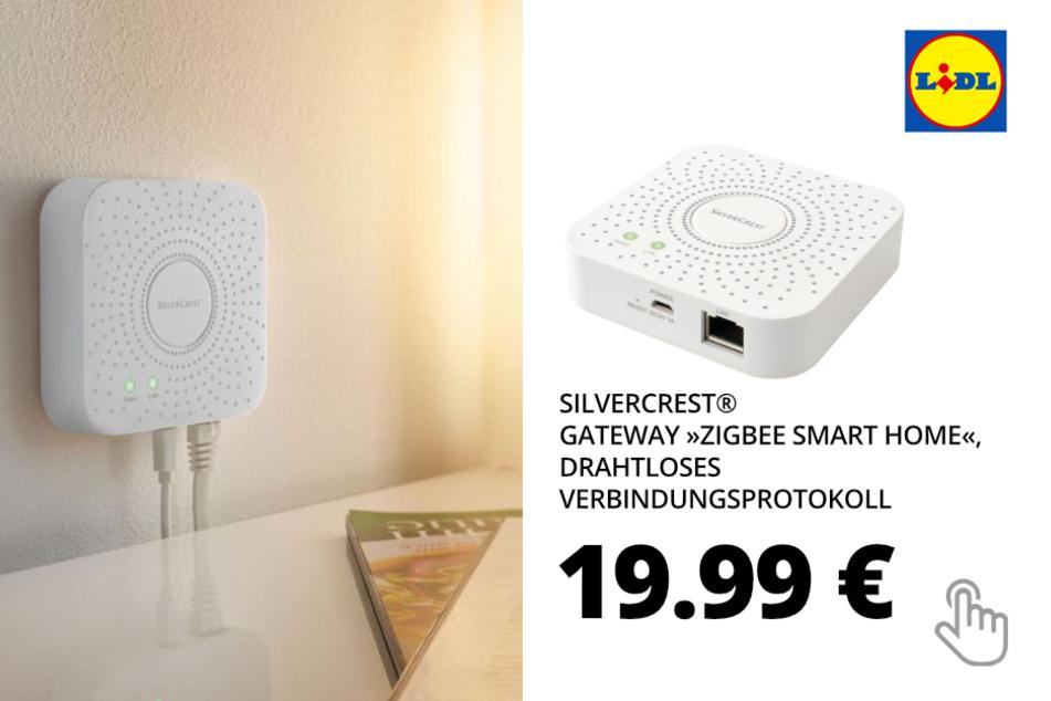 "SILVERCREST® Gateway ""Zigbee Smart Home"", drahtloses Verbindungsprotokoll"