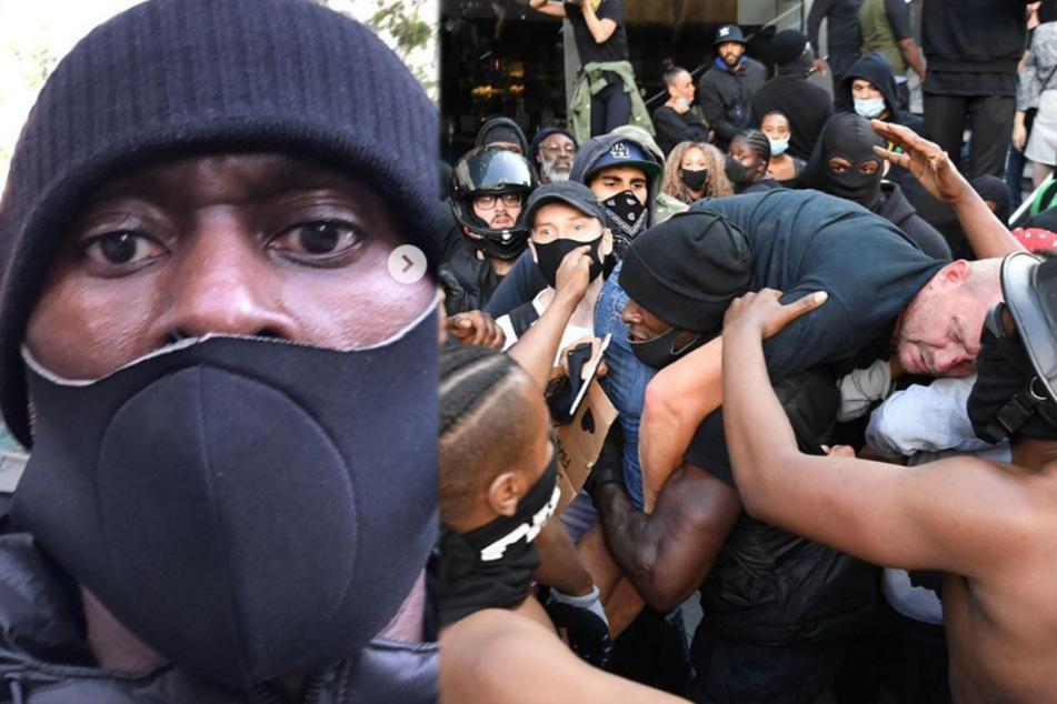 Londons neuer Held: Schwarzer rettet Rechtsextremisten