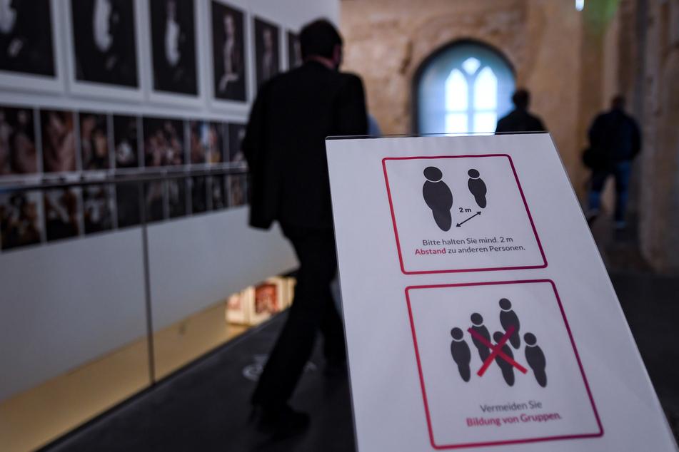 Die Auswirkungen des ersten und zweiten Lockdowns begleiten die Museen in Sachsen-Anhalt auch im neuen Jahr. Die Corona-Pandemie erschwerte und veränderte auch die Planungen für 2021. (Archivbild)