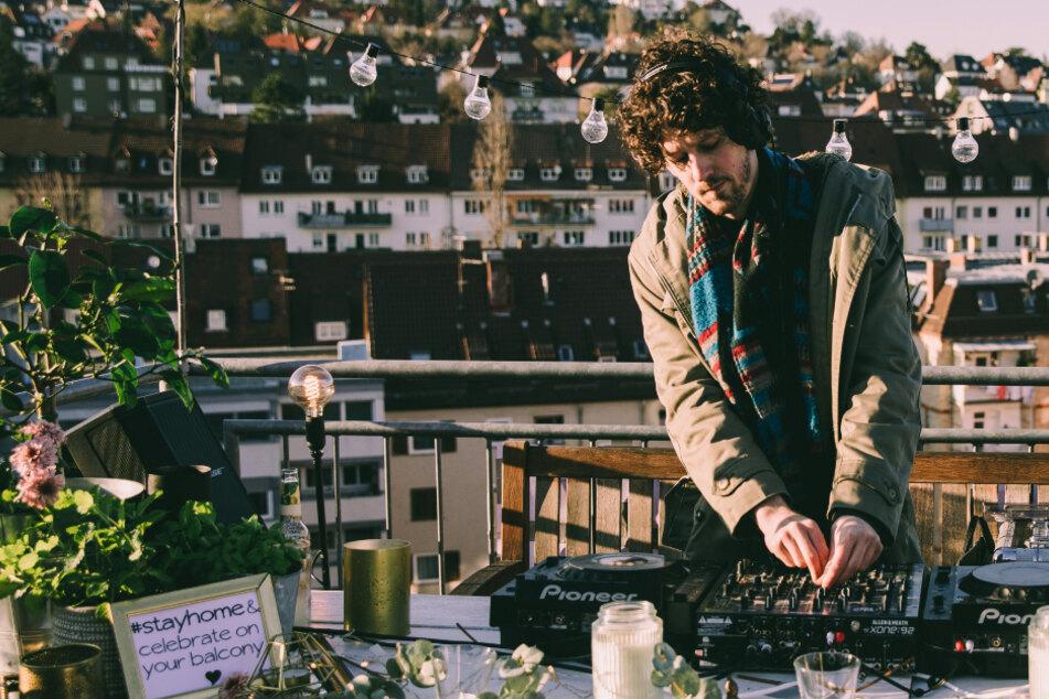 DJ-Set über den Dächern Stuttgarts: So überleben Künstler die Corona-Krise