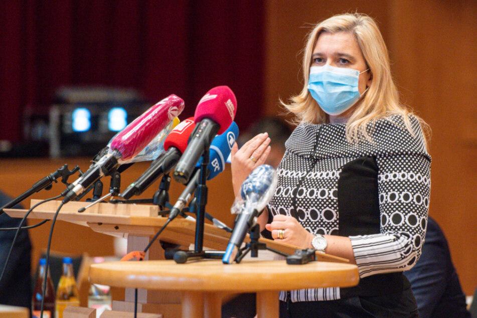 Melanie Huml, Bayerns Gesundheitsministerin (CSU).