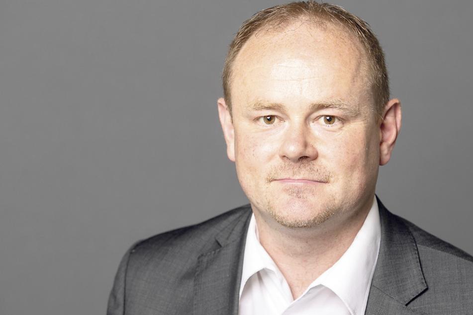"""Gunter Thiele (46, CDU) findet das Ganze """"unwürdig""""."""