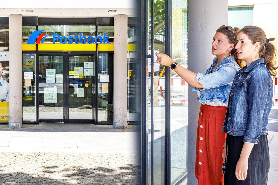 Darum schließt diese Postbank-Filiale jetzt den SB-Bereich außerhalb der Öffnungszeiten!