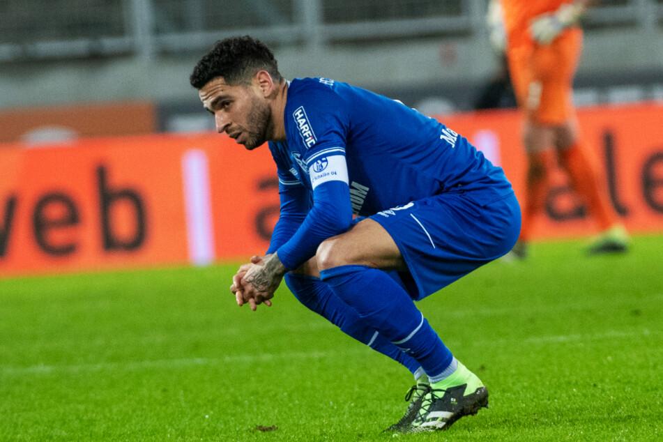Omar Mascarell (27) stellt der Verantwortung als Schalke-Kapitän, konnte seine Mannschaft jedoch seit Januar 2020 nicht zum Sieg führen. Den 4:0-Erfolg gegen Hoffenheim verpasste er angeschlagen.