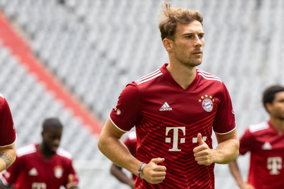 Leon Goretzka ist nicht nur Profi beim FC Bayern München, er scheint auch ein Fan der 2. Bundesliga zu sein.