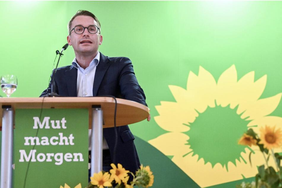 Grünen-Chef Sebastian Striegel (39) will klare Maßstäbe bei der Glücksspielprävention.