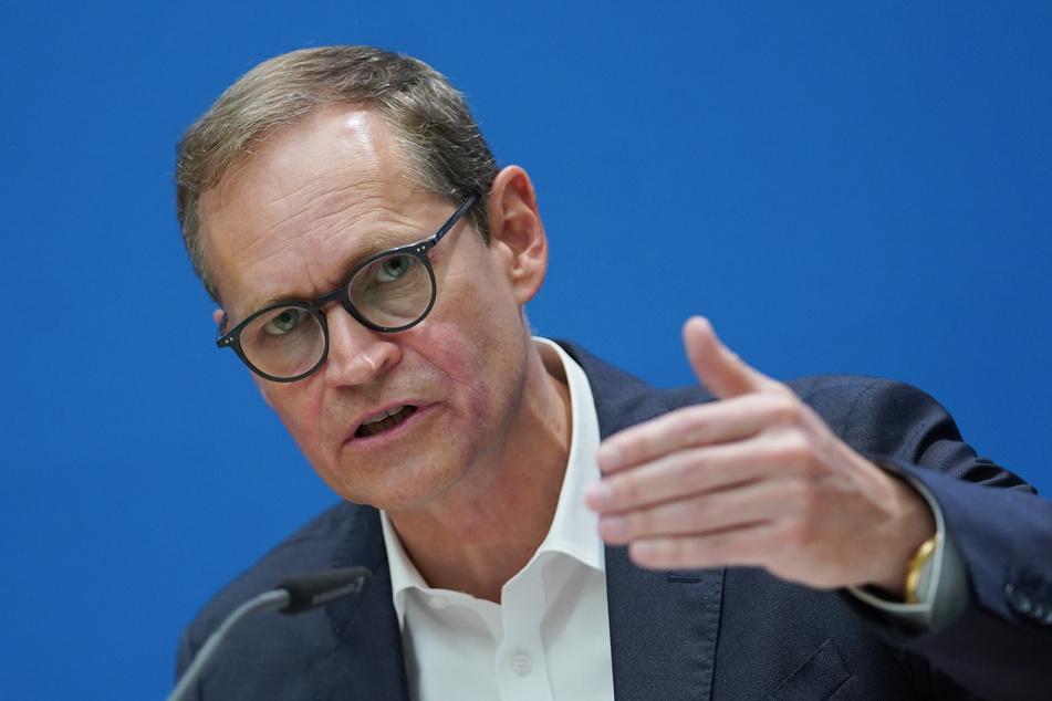 Michael Müller (SPD), Regierender Bürgermeister.