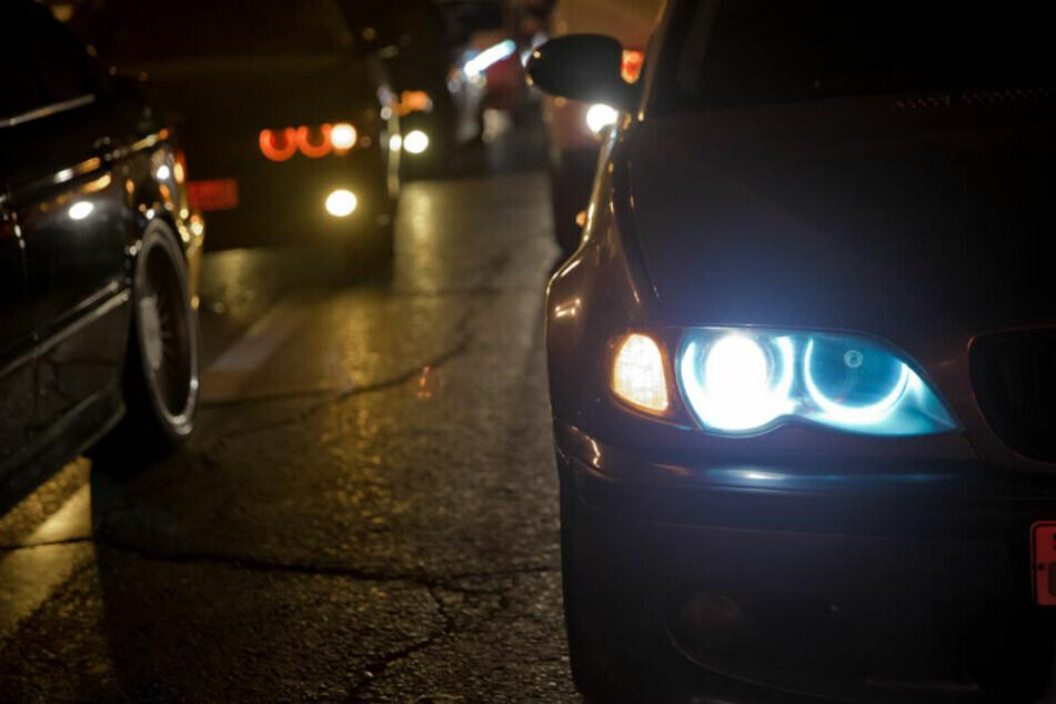 Illegales Autorennen in Chemnitzer Innenstadt