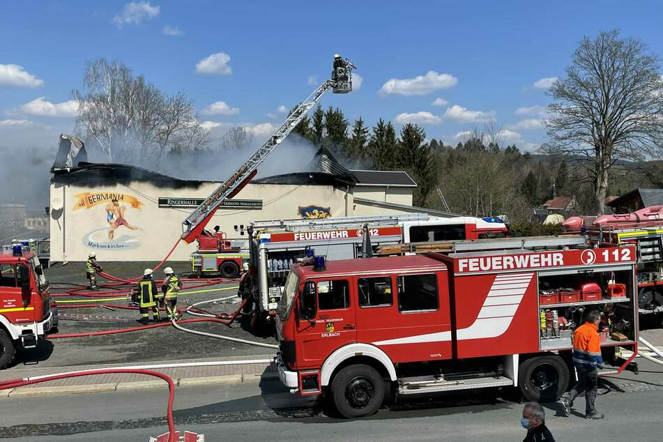 Ringerhalle komplett abgebrannt: Jetzt ist die Ursache klar