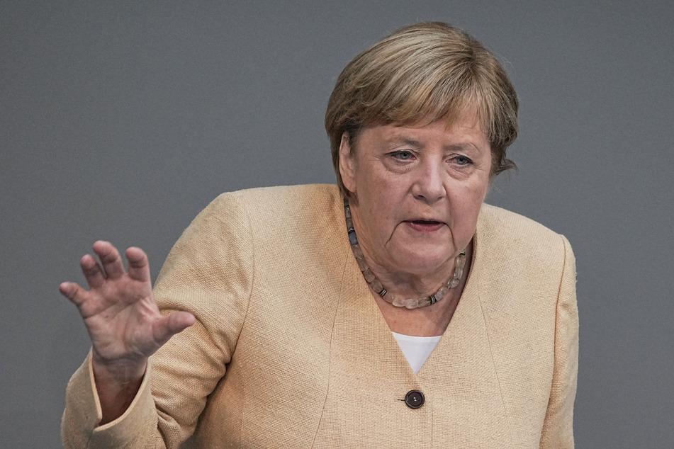 Angela Merkel (67, CDU) ruft erneut zur Impfung gegen Corona auf.