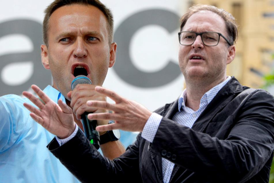 """Unterstützer über Nawalnys Zustand: """"Mindestens ein, zwei Monate aus dem politischen Gefecht weg"""""""
