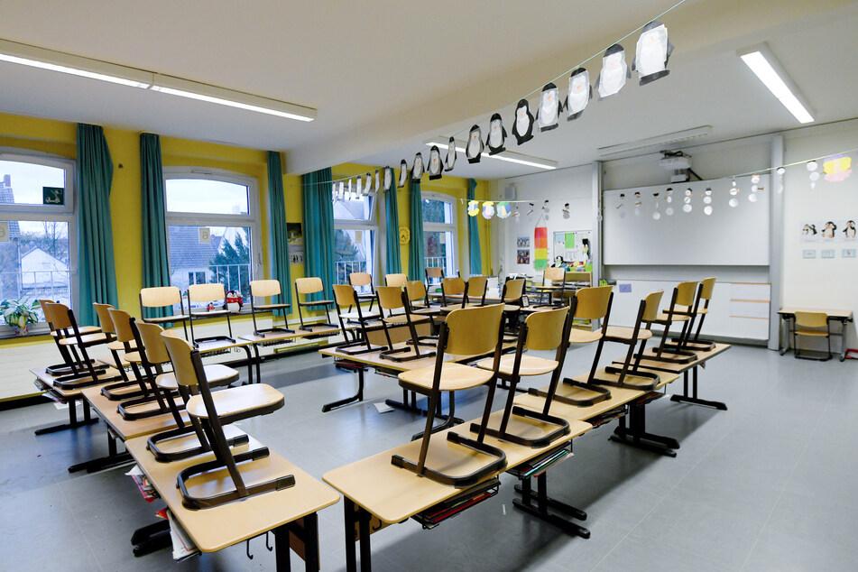 Ab Montag wird in ganz Sachsen der Schulbetrieb eingestellt (Symbolbild).