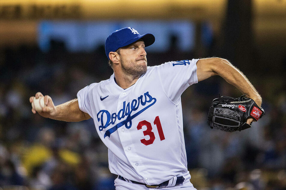 Dodgers pitcher Max Scherzer struck out 10 but got the loss in game four.