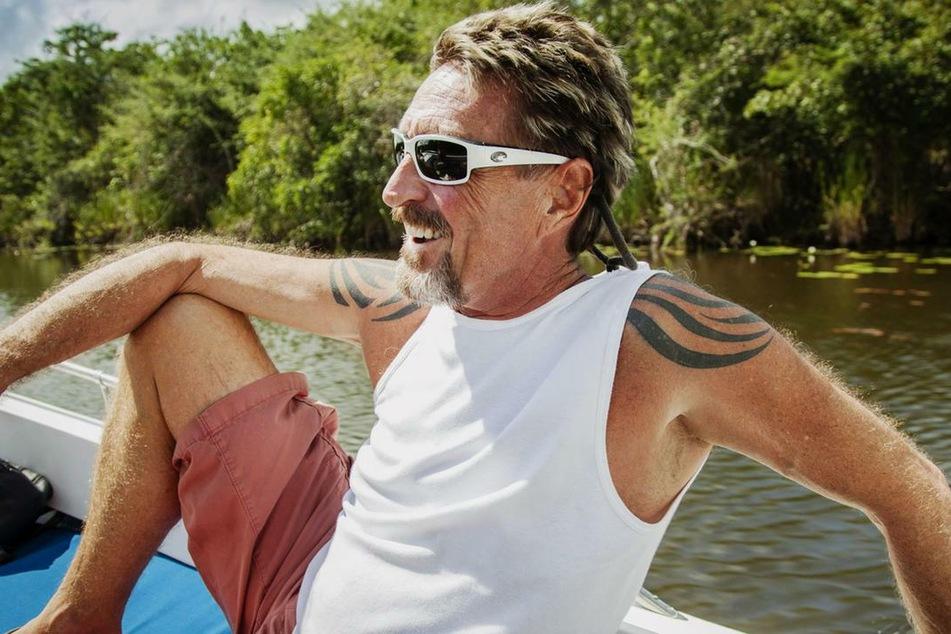McAfees Leben in Belize: Er hatte mehrere Frauen, die ihm spezielle Sex-Wünsche erfüllten.