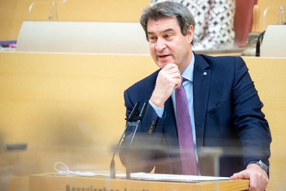 """""""Keiner sollte sich vordrängen"""": Söder kritisiert unberechtigte Corona-Impfungen"""