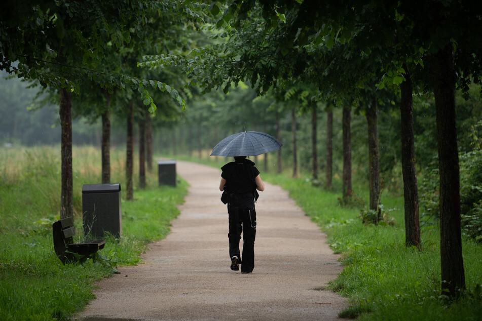 Das Wetter in Nordrhein-Westfalen in den letzten Sommertagen ist kühl und lokal fällt reichlich Regen. (Symbolbild)