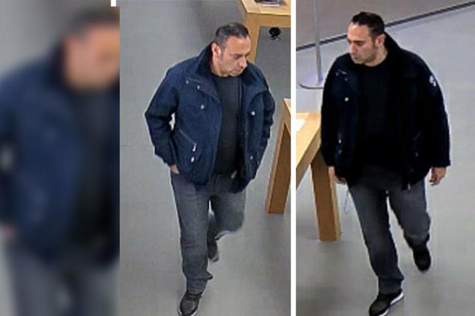 Dreister Diebstahl in der Altmarktgalerie: Wer kennt diesen Mann?