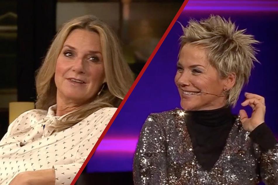 Kim Fisher und Inka Bause: Botox in der Stirn!