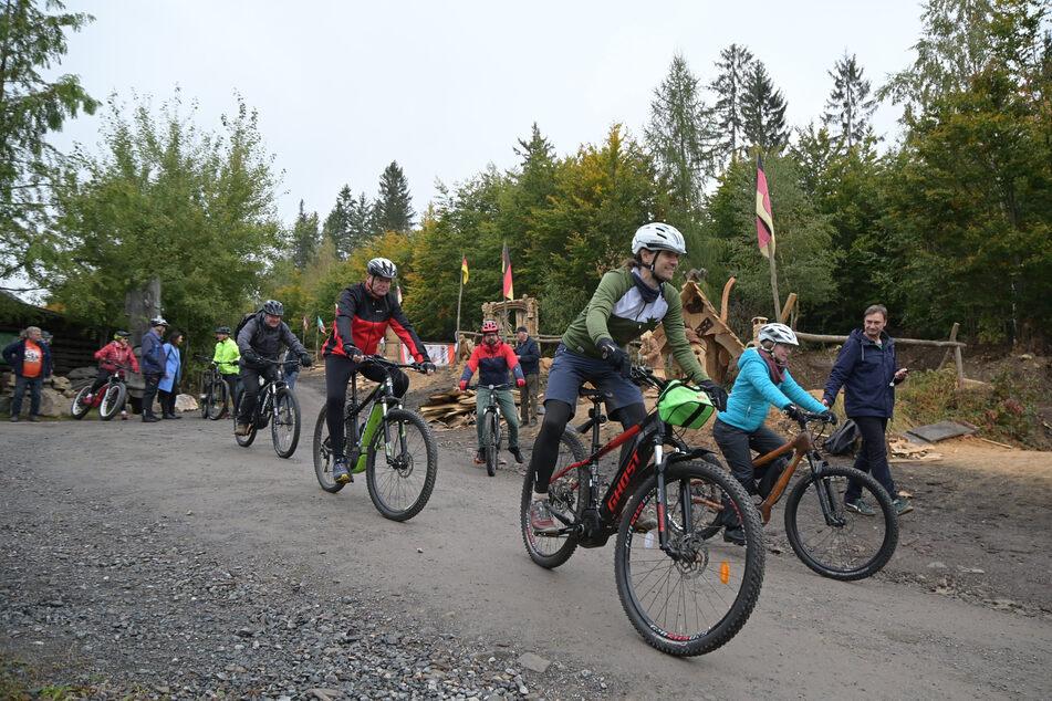 Neue Mountainbike-Strecke für das Erzgebirge