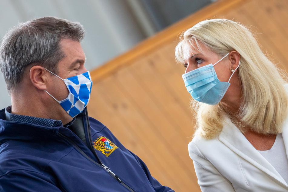 Hartnäckige Gerüchte über Söders Ehefrau: FFP2-Maskenpflicht lässt Fake News aufleben