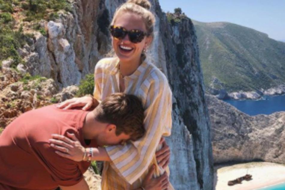 Romee (24) und Laurens van Leeuwen (29) sind mehr als zehn Jahre ein Paar und immer noch mega happy.