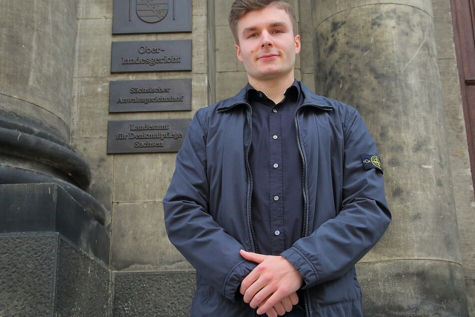 """Max """"Adlersson"""" Herzberg (24) setzte sich am OLG in Dresden gegen YouTube durch."""