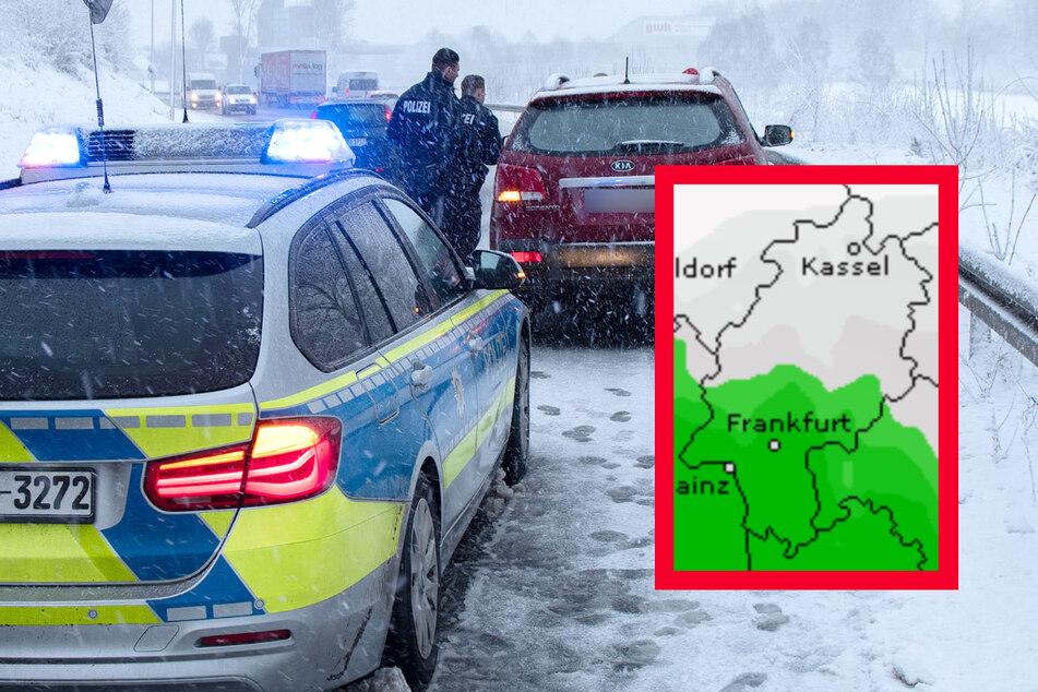 Schnee- und Glatteis-Chaos drohen: Das Wetter in Frankfurt und Hessen