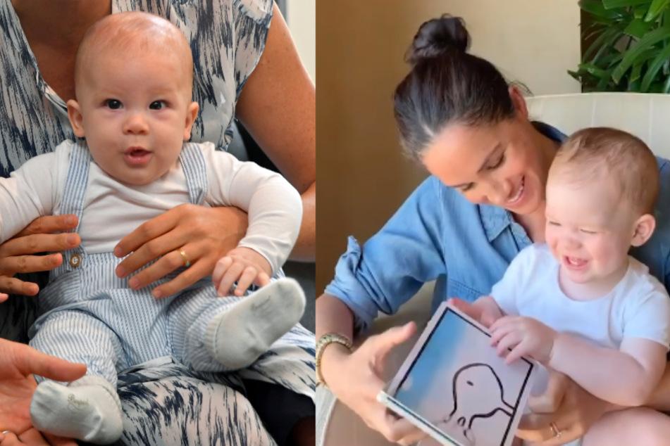 Endlich Neues von Archie: Süßes Geburtstagsvideo zeigt Mutter und Sohn