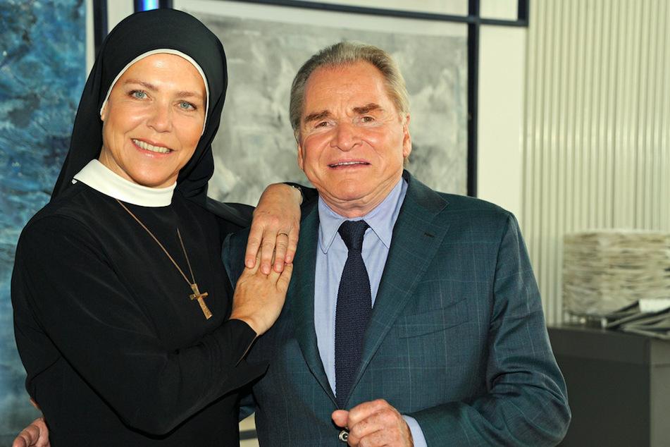 Janina Hartwig und Fritz Wepper standen seit 2002 zusammen vor der Kamera.