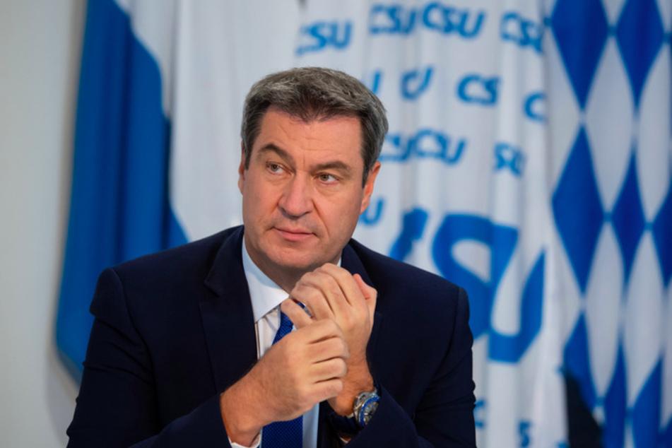 CSU-Chef Markus Söder (53) wurde in seiner Parteitagsrede ganz persönlich.
