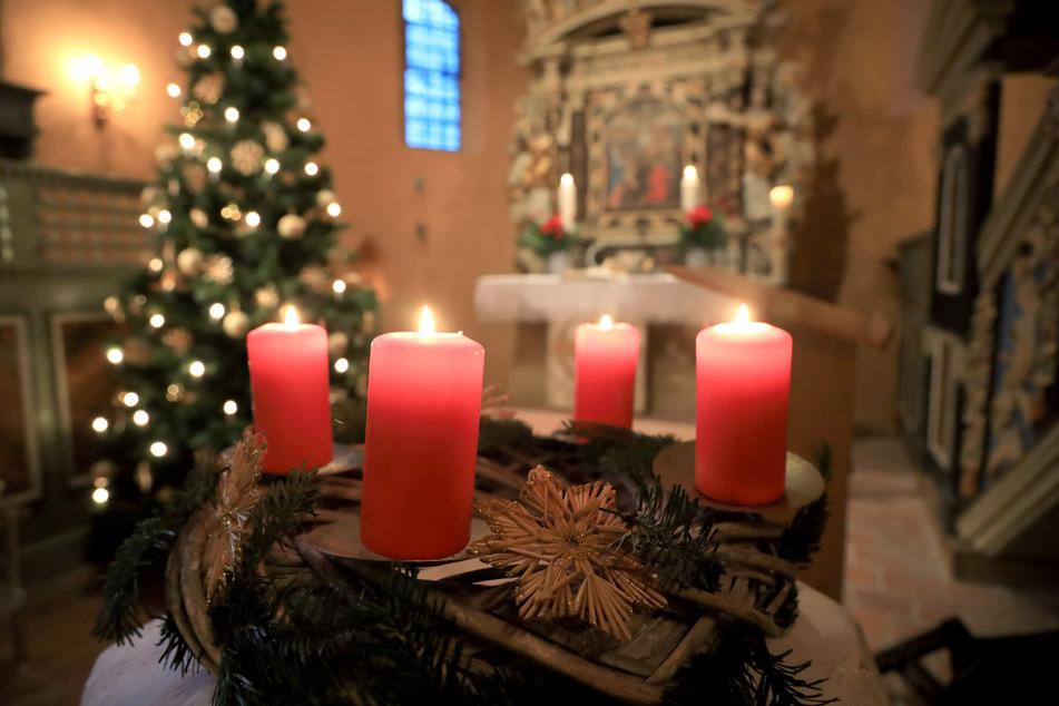 Auch an den Weihnachtsfeiertagen überträgt der MDR Gottesdienste.