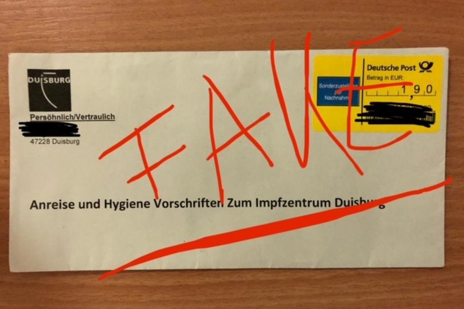Falscher Brief vom Impfzentrum: Polizei warnt vor Betrugsmasche