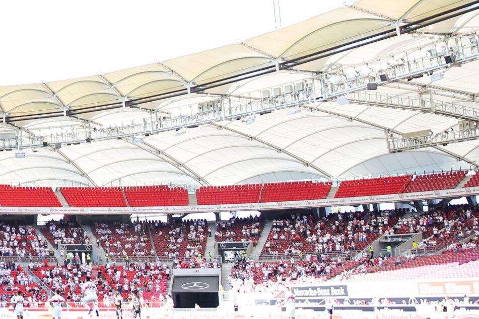 Ein Blick in die Mercedes-Benz Arena beim Heimspiel des VfB gegen den SC Freiburg.