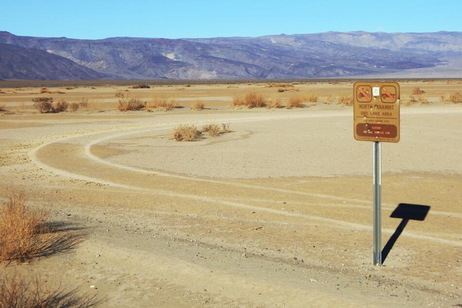 """Trockenheit, soweit das Auge reicht: Der Death Valley National Park kam nicht umsonst zu seinem Namen """"Tal des Todes""""."""