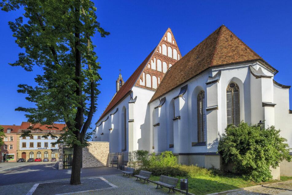 Die Klosterkirche St. Annen in Kamenz wurde 1512 geweiht und gehörte zu einem Franziskanerkloster.