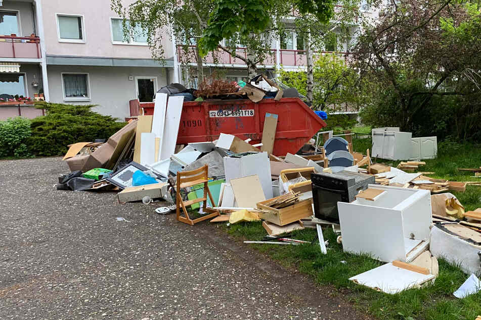Diesen Anblick will wohl niemand haben: Der Müllhaufen an der Ringstraße treibt Anwohner immer mehr zur Weißglut.