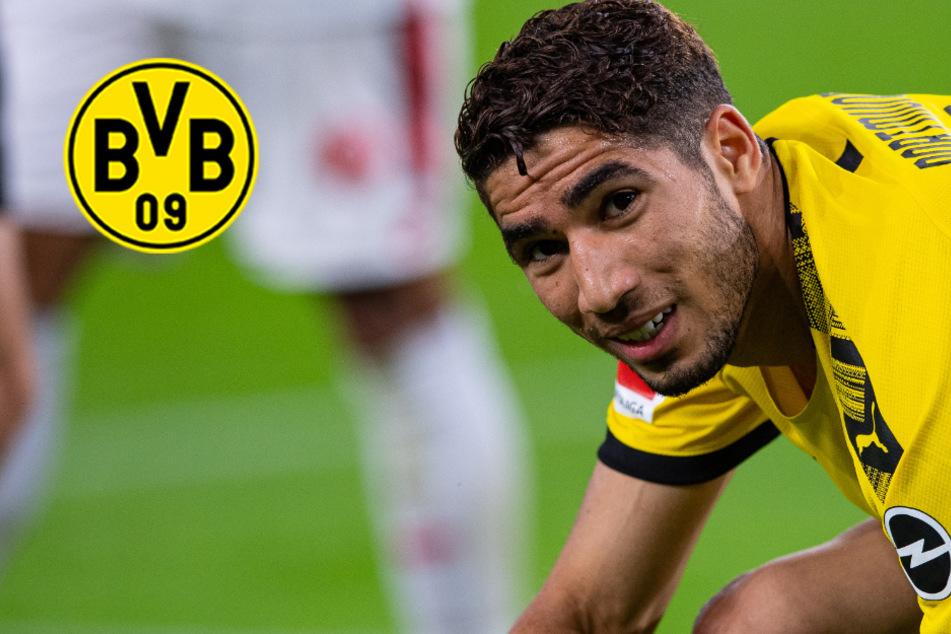BVB-Abschied offiziell! Hakimi verlässt Borussia Dortmund in Richtung Italien