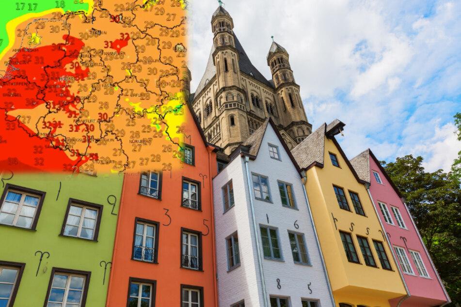 Nach Regen in Köln kommt jetzt die Hitzewelle!