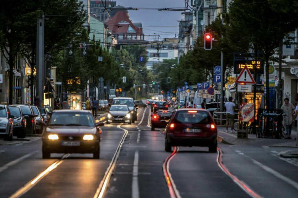 Auf der Eisenbahnstraße im Leipziger Osten wäre ein Streit beinahe eskaliert. (Archiv)