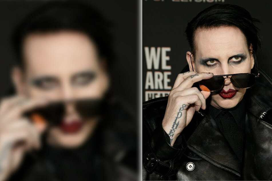 Marilyn Manson turns himself in after disgusting spitting accusations