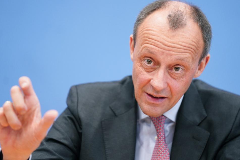 Vizepräsident des CDU-Wirtschaftsrats, Friedrich Merz (64).