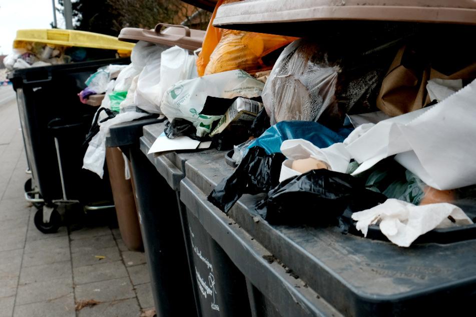 Falsch getrennter Müll sorgte in Berlin für Ärger in der Nachbarschaft. (Symbolbild)