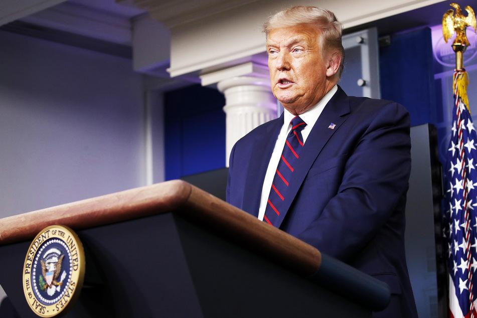 Donald Trump (74), Präsident der USA.