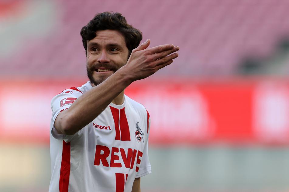 Jonas Hector (30) hat gegen Werder Bremen den Ausgleichstreffer zum 1:1 für den 1. FC Köln erzielt.