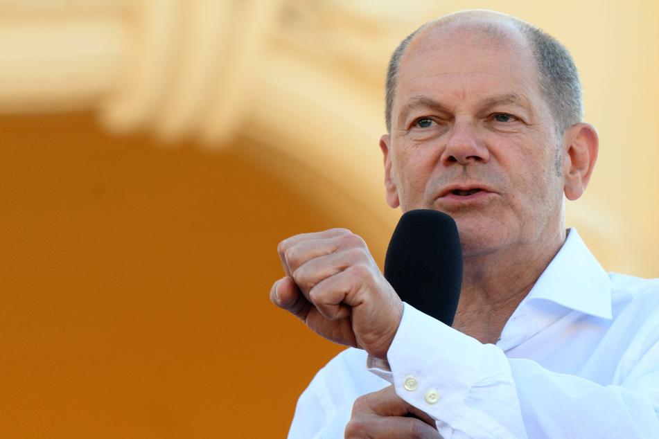 Olaf Scholz (63), Kanzlerkandidat und Spitzenkandidat der SPD.