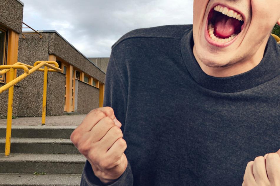 Berlin: Aggro-Schüler prügelt auf Rektorin und Polizisten ein: Psycho-Klinik!
