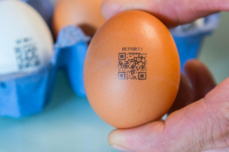 Eier statt Flyer! Hier wird die Schale zur Werbe-Botschaft