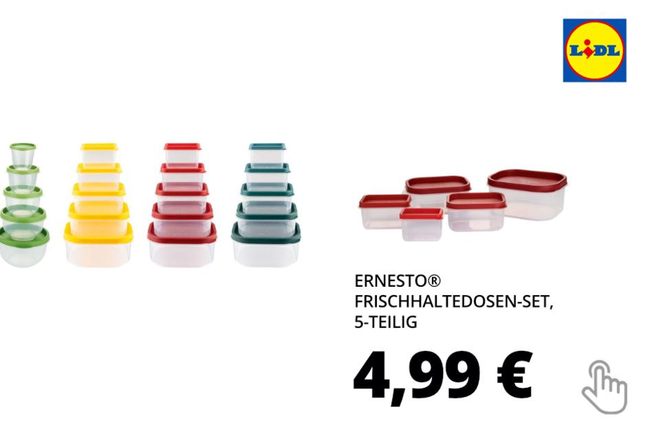 ERNESTO® Frischhaltedosen-Set